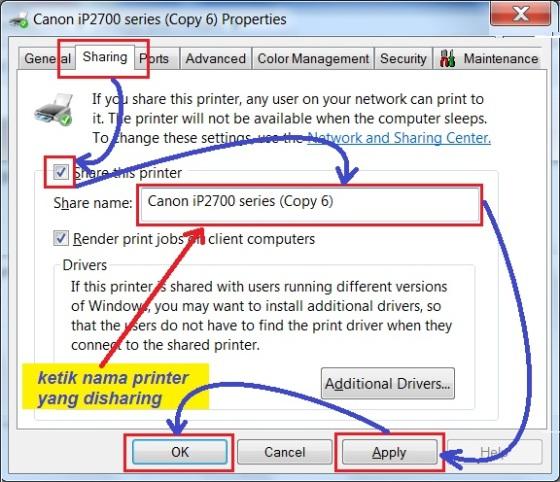 c3. sharing printer