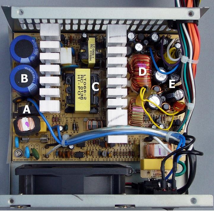 Mengatasi Permasalahan Pada Power Supply Pc