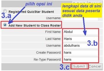 g3. isi data siswa