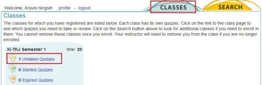 hx9. untaken quizzes
