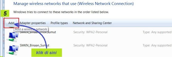 a5. add wireless network